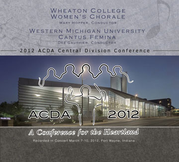 CD cover for 2012 ACDA Central Division Conference