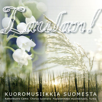 CD cover for Laulan