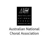 Logo Australian National Choral Association