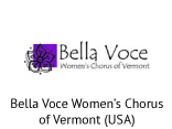 Logo - Bella Voce Women's Chorus of Vermont