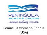 Logo - Peninsula Women's Chorus