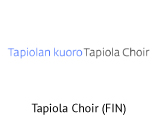 Tapiola Choir logo