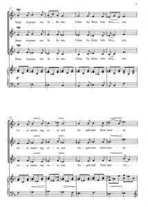 Score Sample - Angels ever watching