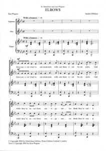 Score sample - Elbows