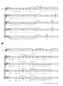 Score Sample - O magnum mysterium