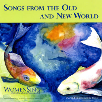 CD cover for Songs from the Old and New World